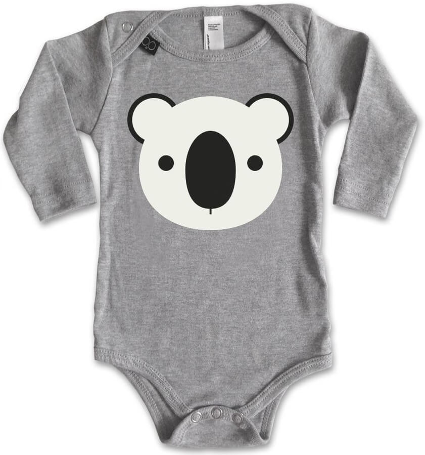 Lemur Long sleeve bodysuit