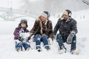 Na zimnú dovolenku s detmi