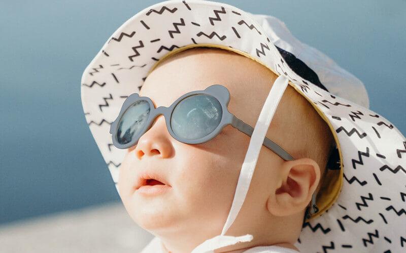 Ochrana detí pred slnkom Slnecne okuliare KiETLAOchrana detí pred slnkom Slnecne okuliare KiETLA